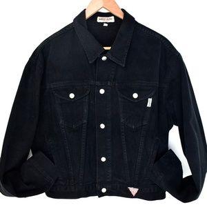 VTG Guess Black Jean Jacket